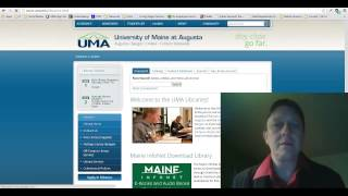 Finding a Journal Article with UMA OneSearch