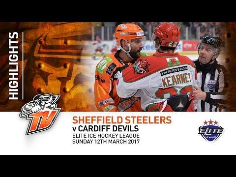 Sheffield Steelers v Cardiff Devils - EIHL - Sunday 12th March 2017