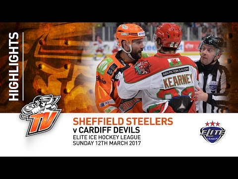 Sheffield Steelers v Cardiff Devils - EIHL - Sunday 12th March 2017