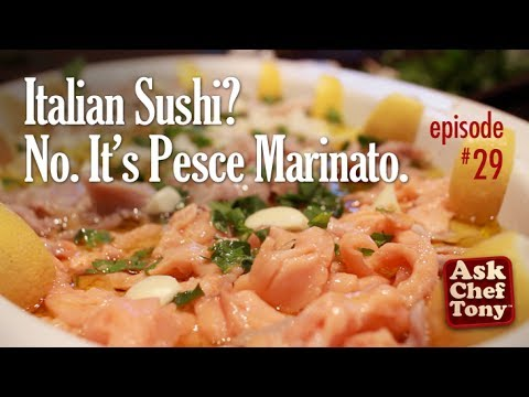 Ceviche? Sushi? It's Pesce Marinato (Marinated Fish and Seafood) Easy Traditional Italian Recipes