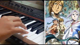 【アルスラーン戦記 風塵乱舞 / Arslan Senki Fuujin Ranbu】ED「blaze」Piano