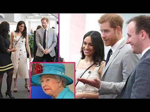 The Queen disappointed in Meghan Markle's first appearance on Australian rock design with Harry