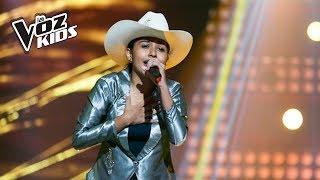 Luna Reyes canta Predestinación - Audiciones a ciegas | La Voz Kids Colombia 2018