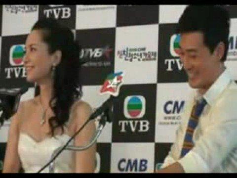 林峯在韓國記者會說英語