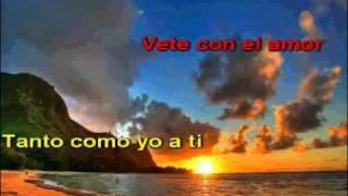 Ricardo Acosta - Vete con el (karaoke)