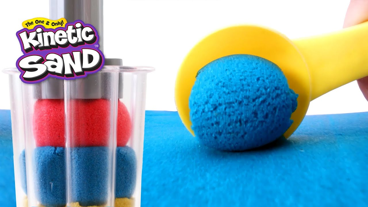 Create WILD Sand Explosions with Sandwhirlz Set from Kinetic Sand!