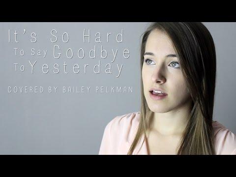 It's So Hard To Say Goodbye To Yesterday - Boyz II Men (Jason Mraz Cover)