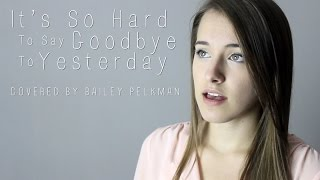 It's So Hard To Say Goodbye To Yesterday - Boyz II Men (Jason Mraz Cover)