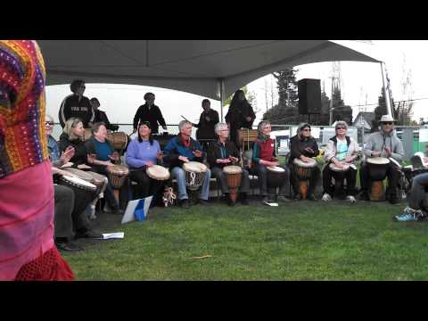 Earth Day Drumming