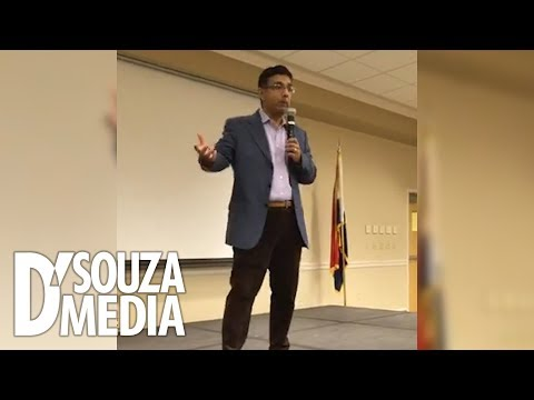 D'Souza answers surprising student questions at Truman State