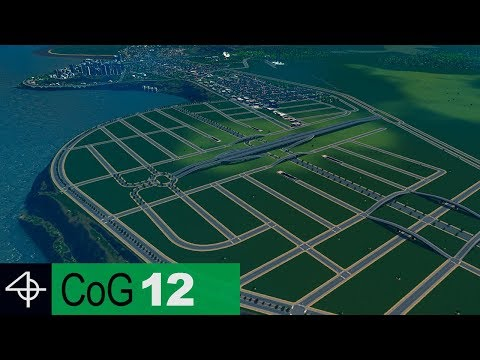 HIGH TRAFFIC CAPACITY Road Layout | Cities: Skylines – City of Gardens SCENARIO, Part 12