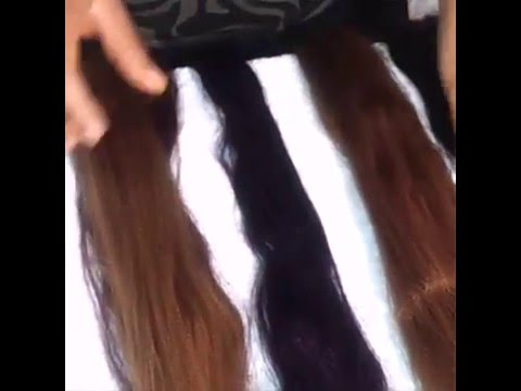 How to blend hair extensions/Different color