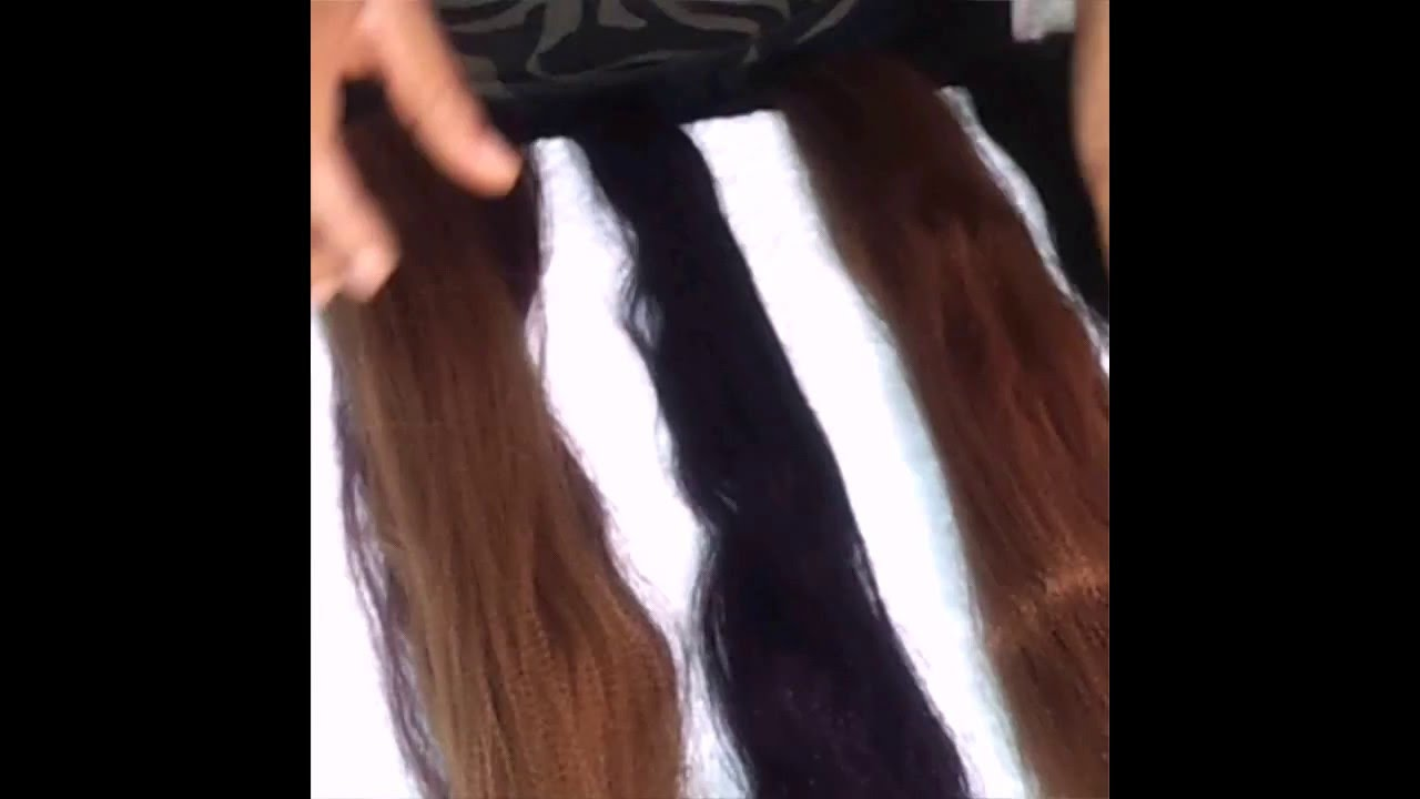 How To Blend Hair Extensionsdifferent Color Youtube