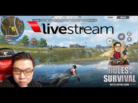 LIVE Rules Of Survival PC(ind/English) - Apa Kabar dunia ROS masih banyak JIN?