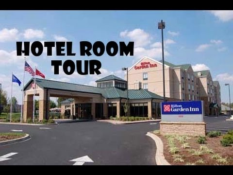 Hotel Room Tour Double Queen Room At The Hilton Garden Inn Bowling Green Youtube