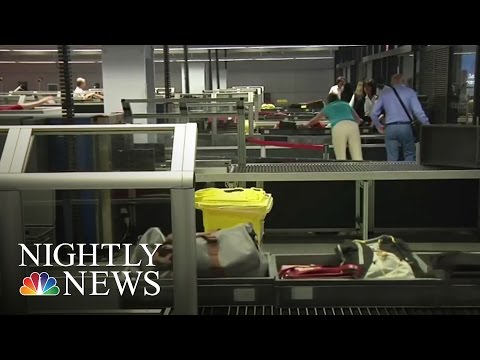 Electronic Devices To Be Temporarily Barred On Some Overseas Flights | NBC Nightly News