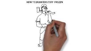 How to draw Kristoff  Frozen