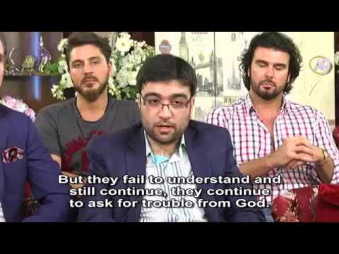 Mr. Adnan Oktar's live interview with Mr. Kourosh Ziabari of Iran...