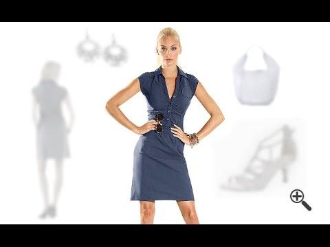 Schöne Kleider für große Oberweite + 3 Outfit Ideen für Edit - YouTube