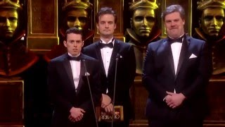 """Olivier Award 2016 - The Play That Goes Wrong """"Best Performance in a Sequel"""""""