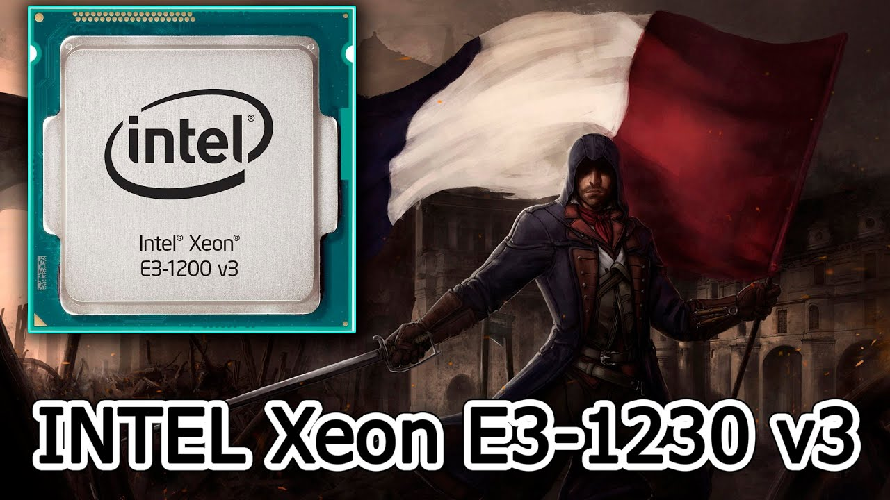 intel xeon e3 1230 v3 r9 290 assassin s creed unity youtube. Black Bedroom Furniture Sets. Home Design Ideas