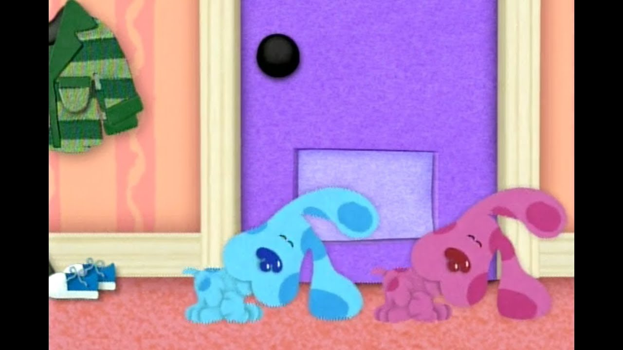 Blues Clues Magenta Comes Over Youtube