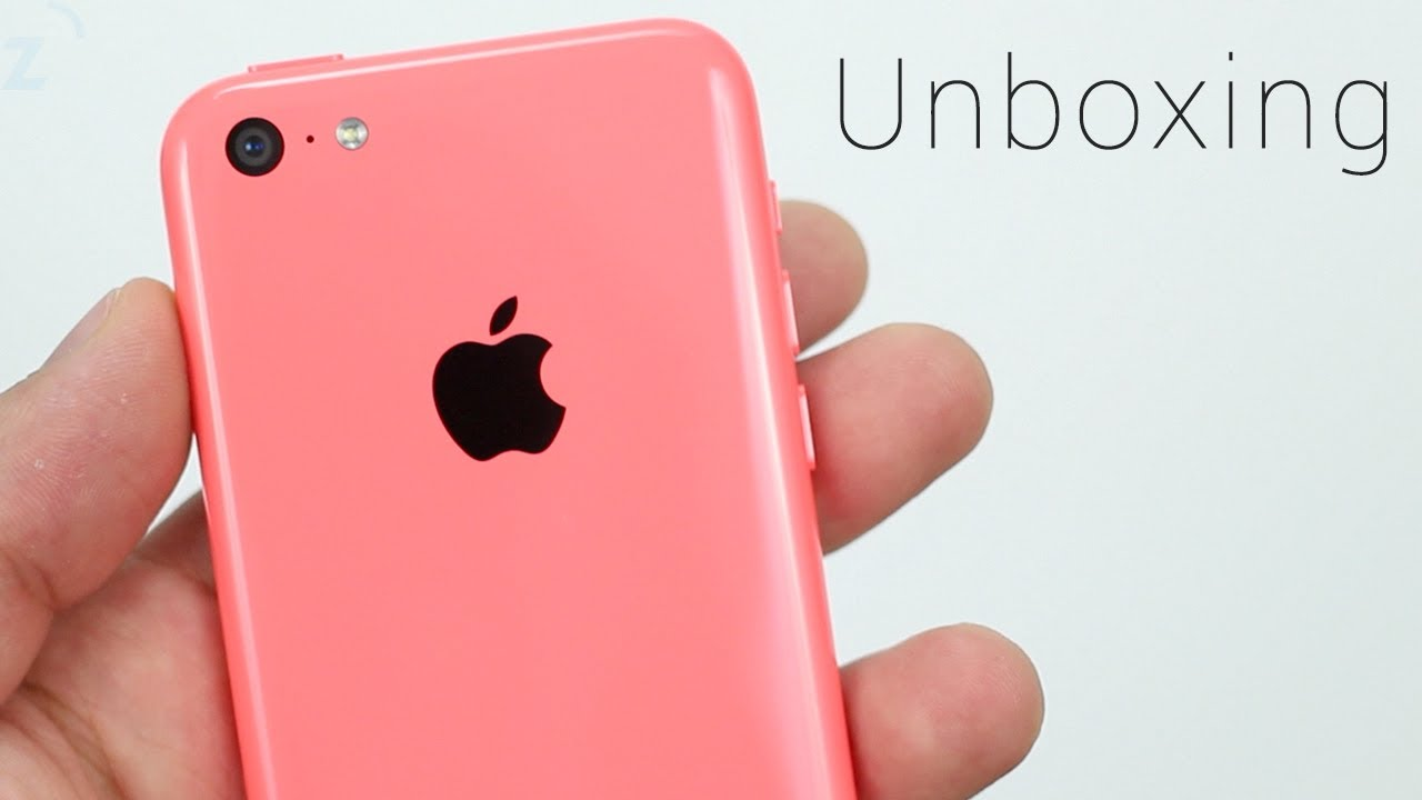 Pink IPhone 5c Unboxing Hands On