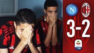 CHE REMUNTADA! - NAPOLI vs MILAN 3-2 | LIVE REACTION TIFOSI ROSSONERI streaming