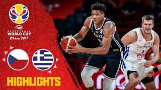 Czech Republic v Greece - Highlights - FIBA Basketball World Cup 2019