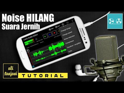 Cara Edit  Suara Biar Jernih Seperti di Studio | menghilangkan Noise di Android
