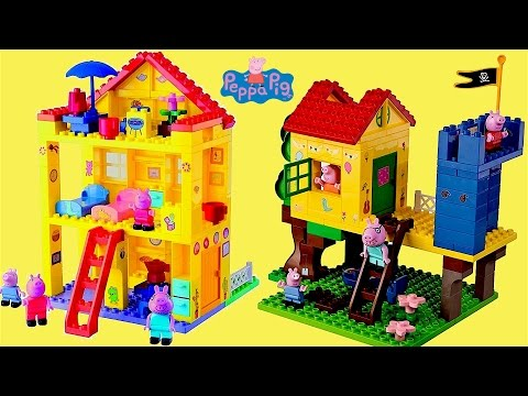 Thumbnail: Peppa Pig Treehouse Play Time Peppa Pig Family House Rocking Nursery Rhymes