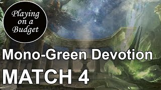 Playing on a Budget: (Modern) Mono-Green Devotion vs Small Pox - Magic: The Gathering (MTG)