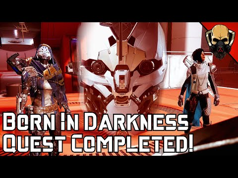 Destiny 2 Beyond Light: Born In Darkness Part 4 Completed! [Aspect of Destruction] Entropic Shards |