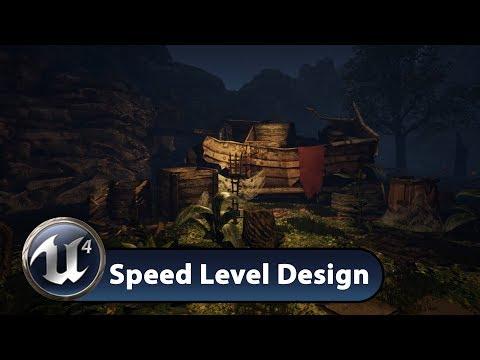 Speed Level Design UE4 - Castle Ruins