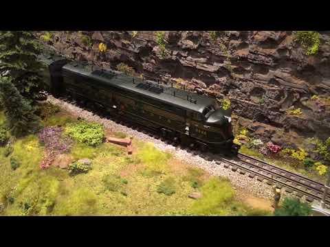 Lionel Legacy Pennsylvania PRR E7 AA Diesel set # 6-34508