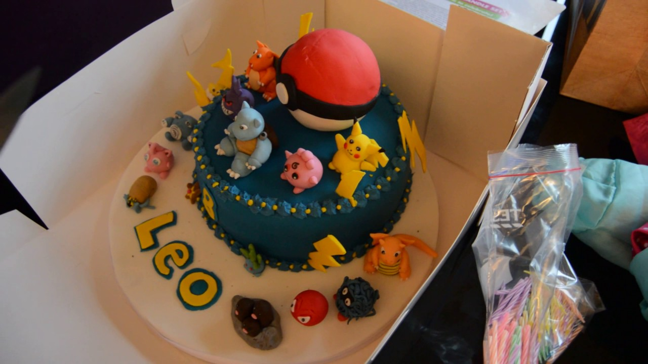 Best Pokemon Birthday Cake Ever Youtube