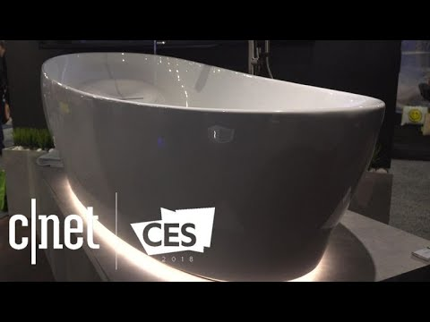 Toto S Floating Tub Mimics Zero Gravity For A Spacelike