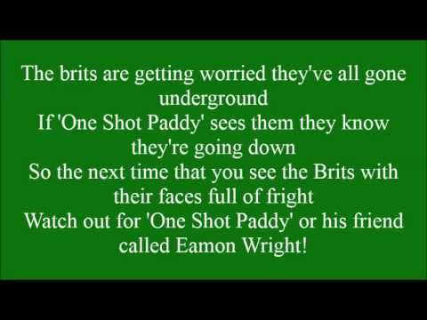 One Shot Paddy with lyrics