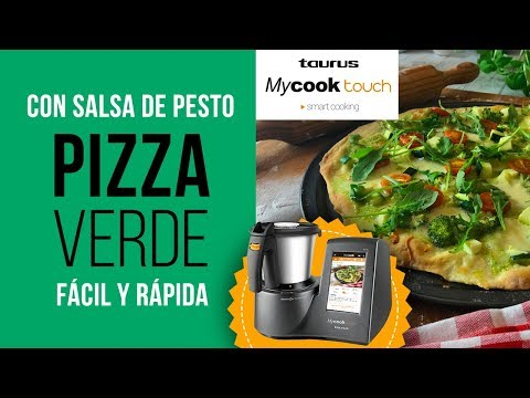 Pizza Verde con MyCook Touch Black Edition