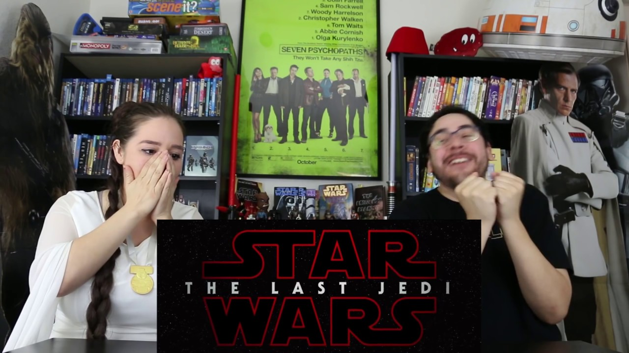 Download Star Wars THE LAST JEDI - Official Teaser Trailer Reaction / Review