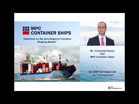 Rates and Charter Periods Continue to Improve - Constantin Baack, CEO, MPC Container Ships - Q3 2020