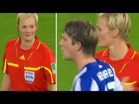 Funny Fails And Bloopers Of Football Referes Moments On The Pitch