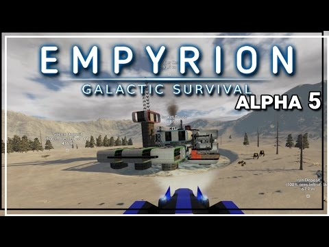 ★ Empyrion Galactic Survival alpha 5 gameplay - Logistics Ce