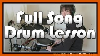 ★ Californication (Red Hot Chili Peppers) ★ Drum Lesson PREVIEW | How To Play Song (Chad Smith)
