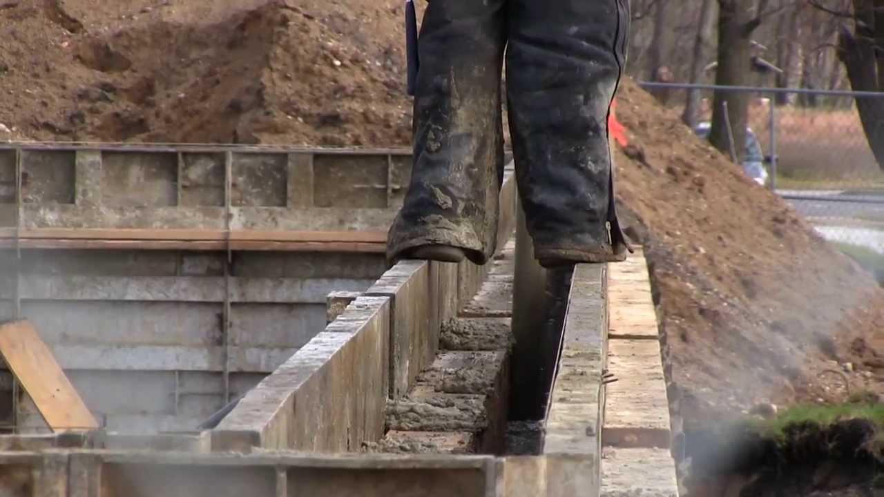 Norbridge Building Construction 11 22 2013 Pouring