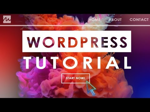 How to build a WORDPRESS WEBSITE as a BEGINNER | Easy Tutorial