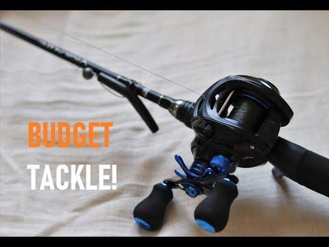 Budget Light Casting Combo - Light Lure Predator Fishing