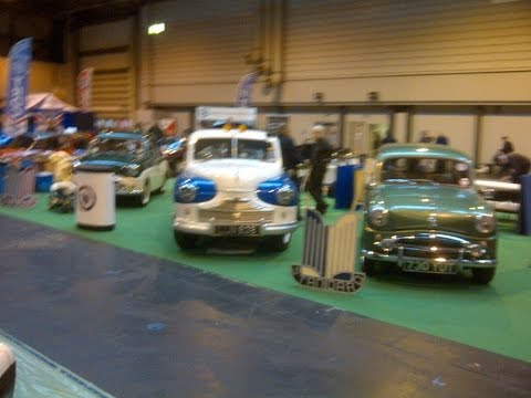THE OFFICIAL STANDARD MOTOR CLUB'S STAND AT THE NEC CLASSIC CAR SHOW 14 16 NOV 2014