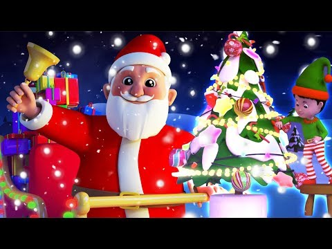Jingle Bells Christmas Song in Hindi | Christmas Carol for Kids by Kids Tv India | Xmas Songs