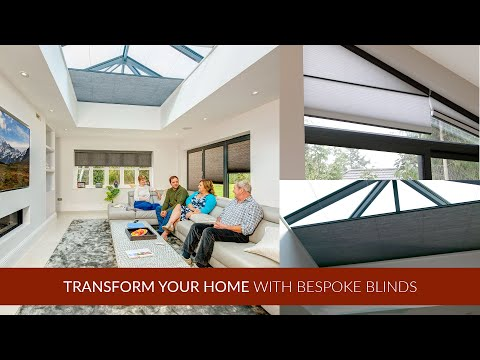 Transform Your Home With Bespoke Blinds
